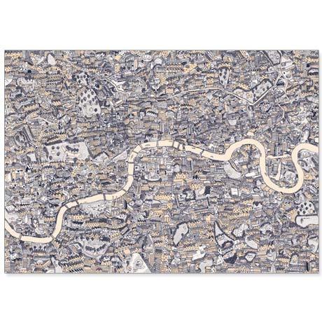 DAVID RYAN ROBINSON map of London