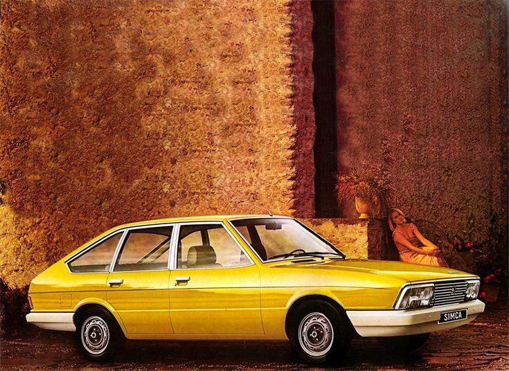Simca Chrysler 1308GLS yellow - Google zoeken