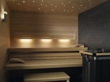Klafs design sauna Lounge Q with Sanarium and SaunaPur.