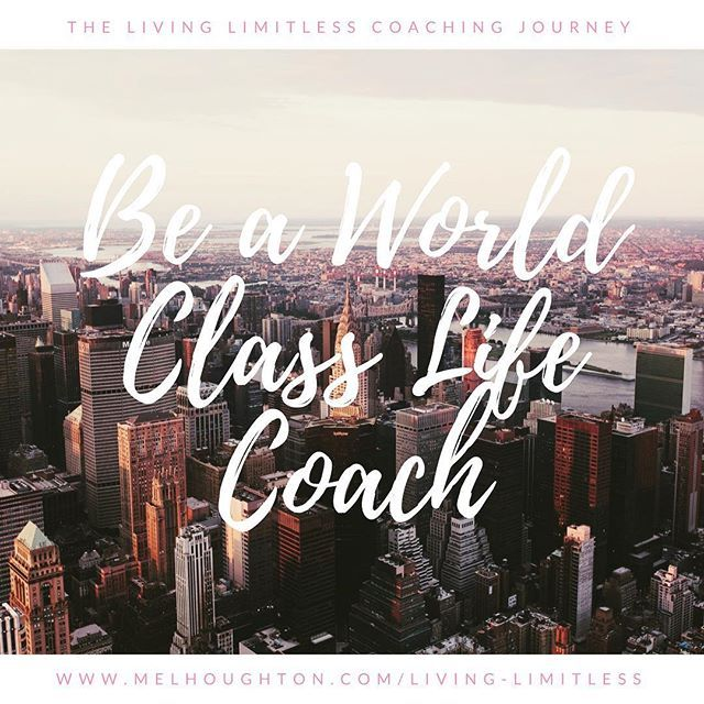 """""""It's time! It's time to decide what 2018 will be about for you.  What are you going for next? What are you truly committed to? & what's the next divine assignment you're being called for?  If 2018 is the year you take the leap of faith into a new inspiring career... why not consider life-coaching?  My definition of it is a wholistic approach that positively impacts every area of your clients lives :) It is for many a spiritually ordained path through which they use their gifts + greatness…"""