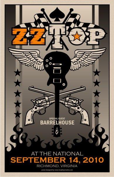 ZZ Top ~ Richmond 2010