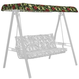 Garden Treasures Sanibel Tropical Porch Swing Canopy Af09l02b