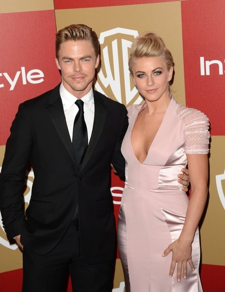 "Siblings Derek and Julianne Hough, who have both been professional dancers on ""Dancing With the Stars."""