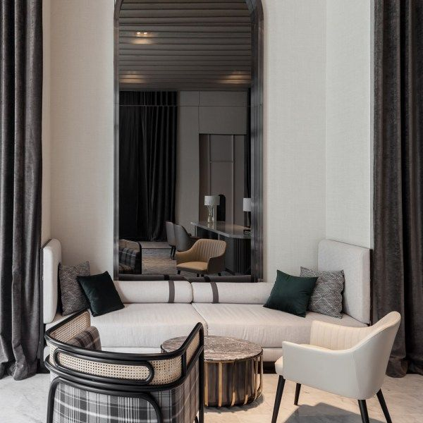 The Reserve Sathorn Pruksa Real Estate Pcl Interior Design By Pia Interior Design Co Ltd Interior Design Interior Styling Hotel Architecture
