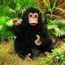 Folkmanis Baby Chimpanzee Hand Puppet NKT
