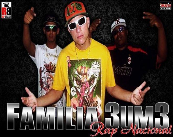 Gheto Hip Hop - Sorriso do Coringa - Familia 3um3