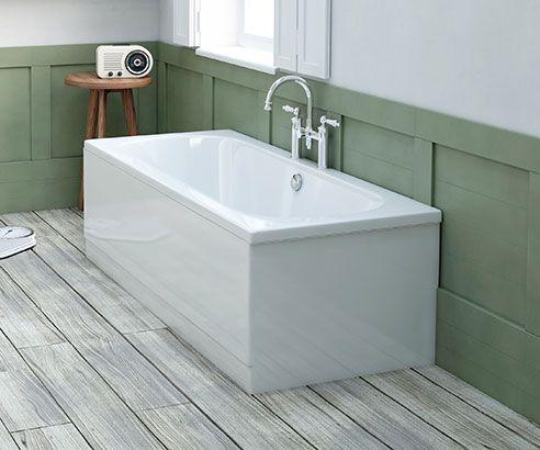 Coates Straight Double Ended Bath 1700 x 700