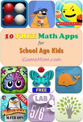 Ready for Back-to-school? This will help - 10 FREE Math Apps for Elementary School Kids: http://igamemom.com/2013/08/07/10-free-math-apps-for-elementary-school-kids/