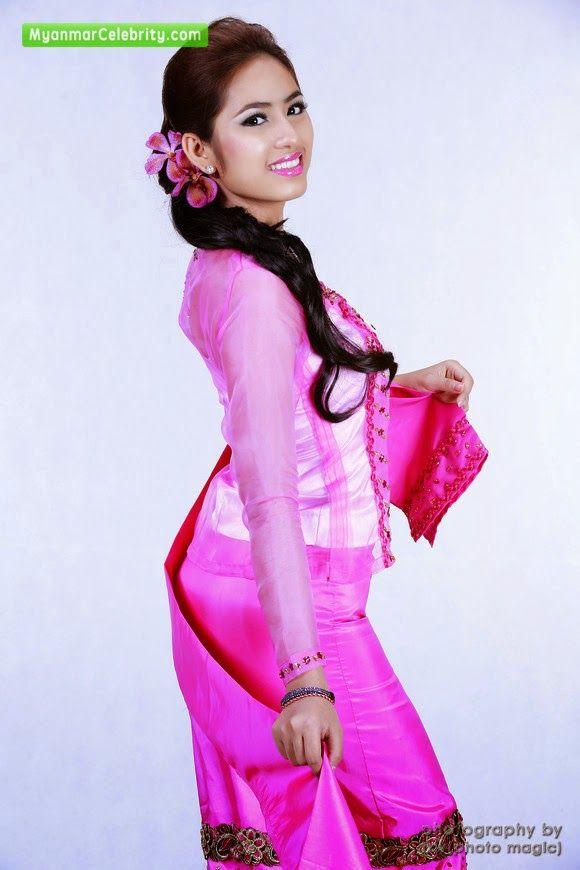 Myanmar traditional traditional dress myanmar fashion fashion dress - Pinterest