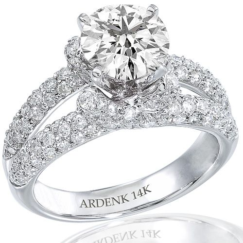 White Gold Diamond Engagement Rings   inspirations of cardiff