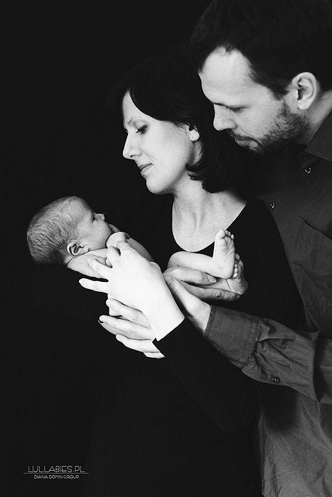 Newborn Photography #newborn #girl #family #blackandwhite  Lullabies - Diana Domin