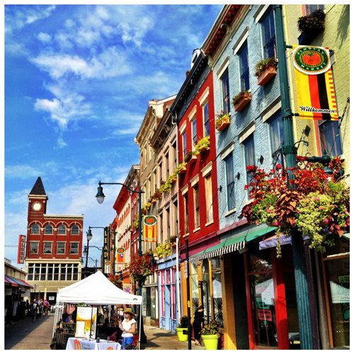 A X High Quality Photographic Print Of The Venerable Findlay Market In Historic Cincinnati Neighborhood Over Rhine