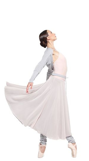 """Rehearsal Skirt and """"La Carlotta"""" pointe shoes by Repetto - Collection fall-winter 2015"""
