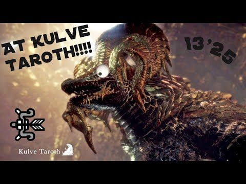 MHW] Arch Tempered Kulve Taroth (P1) 13'25 - YouTube