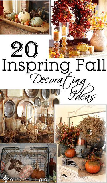 20 Inspiring Fall Decorating Ideas