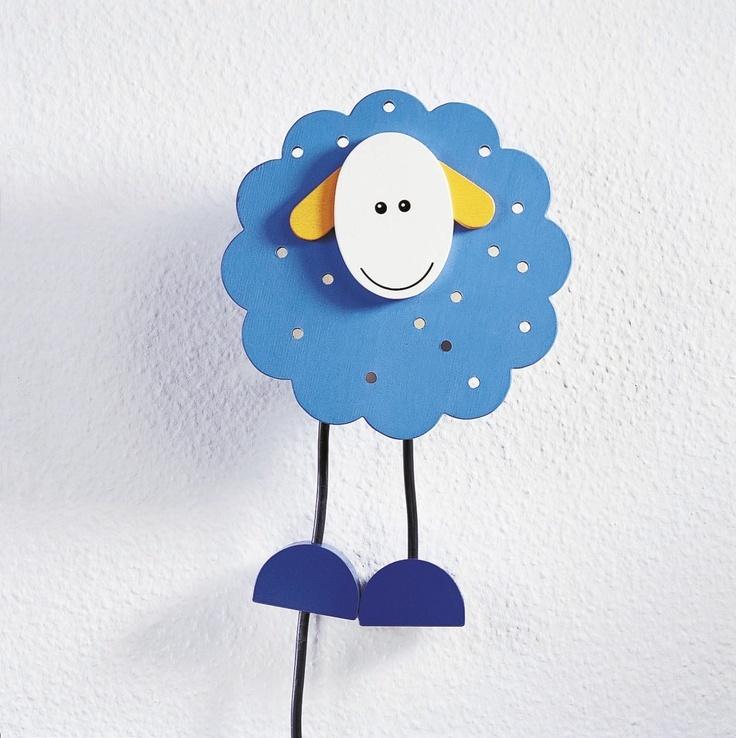 Nočná lampa Ovečka http://www.maxus.sk/detsky-sen/detska-izba/detske-lampy/nocne-lampy/haba-oblacikova-ovecka.html
