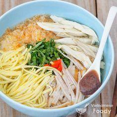Hanoi Special Rice Noodle Soup (Bun Thang Recipe) - Vietnamese Foody #bunthang #noodle #noodlesoup