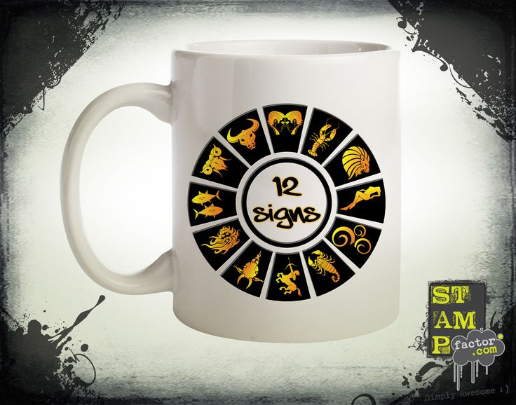 12 Signs (Version 03) 2015 Collection - © stampfactor.com *MUG PREVIEW*