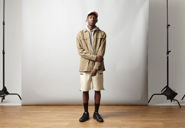 This piece is reminiscent of practical field outerwear with the chief purpose of utility. Features include four external utility pockets, main button closure and cuff fastenings, and straight cut hem. The quality construction and heavy duty fabric makes this piece a hardwearing staple with a purpose in any man's wardrobe.  #iloveugly