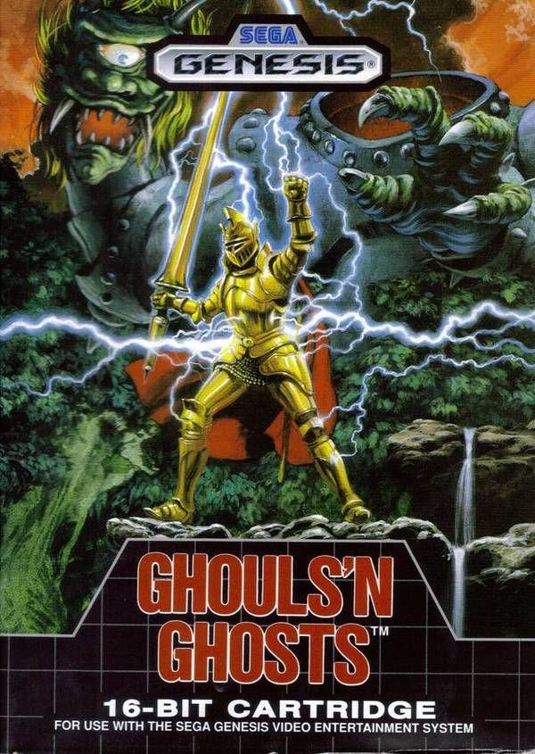 Sega Genesis - Ghouls & Ghosts #videogames #Retrogaming #Sega