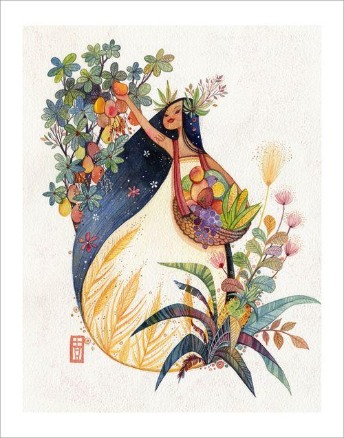 Virgo (print), Alina Chau