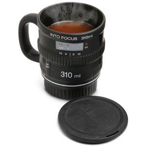 Into Focus Camera Lens Coffee Mug