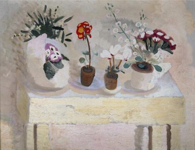 Flower Table: Pots | Winifred Nicholson http://www.winifrednicholson.com/sites/default/files/imagecache/large/paintings/Flower%20Table,%20Pots.jpg