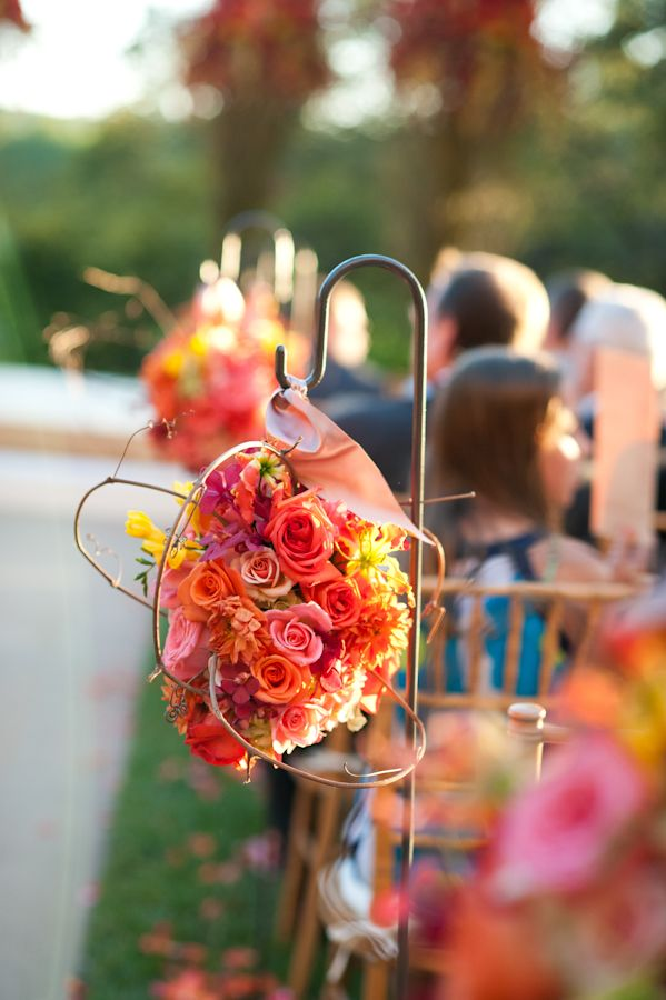 Wedding Colors Inspired By A Sunset From Jennifer Lindberg Photography
