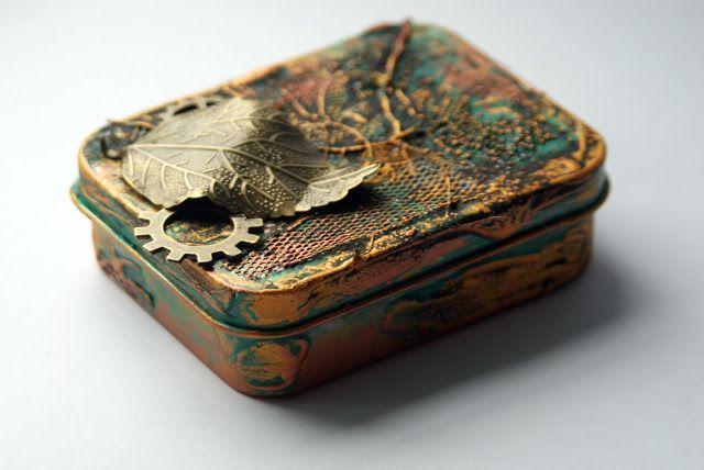 Szymka-Blog z Inspiracjami: {255} Altered old Box // Shein Whishlist