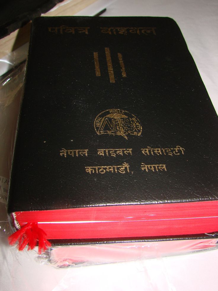 You know anyone from Nepal!! Here we have NEPALI BIBLE बाइबल  / NEW REVISED VERSION / 10 NEPA 106 L / NEPALESE LANGUAGE, Usually ships in 24 hours! Buy with CONFIDENCE!
