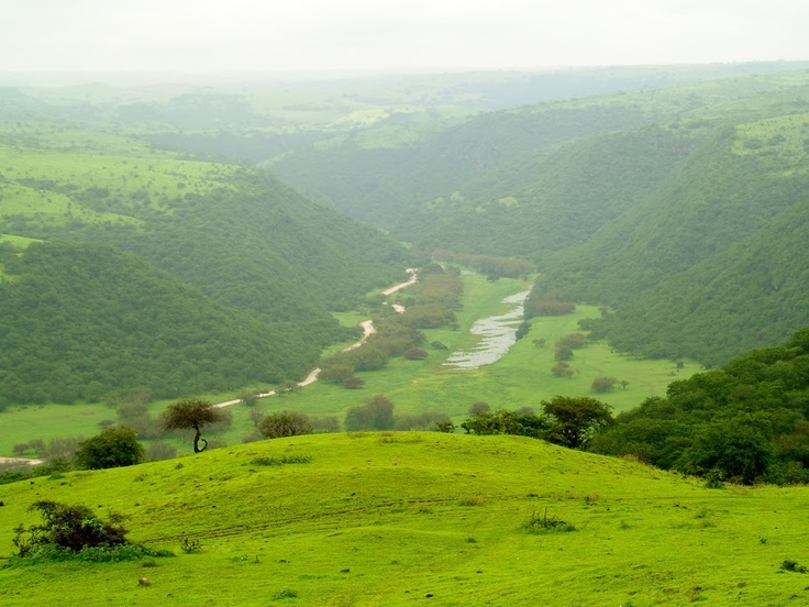 Dhofar Mountains, Salalah, Oman
