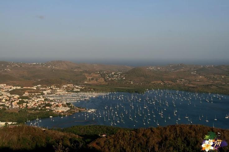 Baie du Marin - Vue depuis Morne Gommier  #Martinique © AliZéMédia