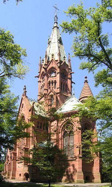 Karlsruhe, Germany - The Burial Church