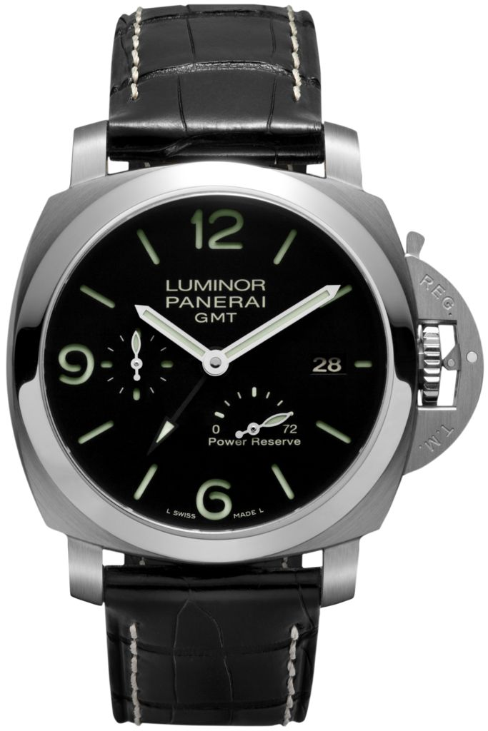 Panerai [NEW+SP] LUMINOR 1950 3 DAYS GMT POWER RESERVE AUTO PAM 321 (Retail:HK$69,900) - Special Deal:- HK$58,800.