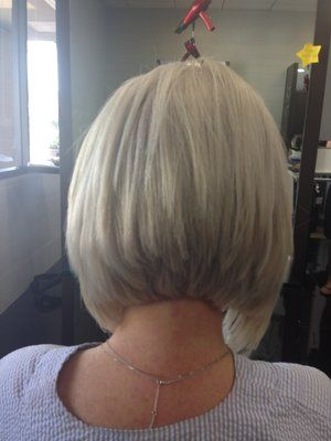 stacked bob, I loved this hair cut!  I need to find someone here who can do it!