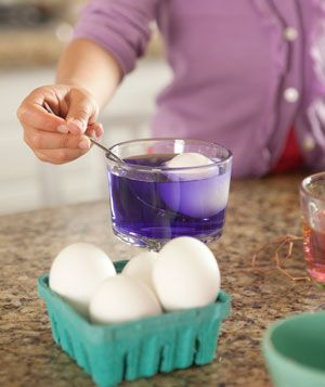Dyeing Easter eggs is a rite of spring. Use these five simple steps for adding a coat of color to those hard-boiled eggs.