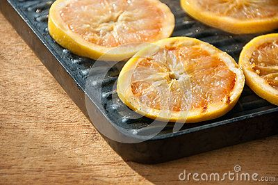 http://www.dreamstime.com/royalty-free-stock-image-grilled-grapefruit-panini-pan-image29559156