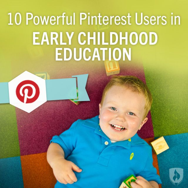 10 Powerful Pinterest Users in Early Childhood Education