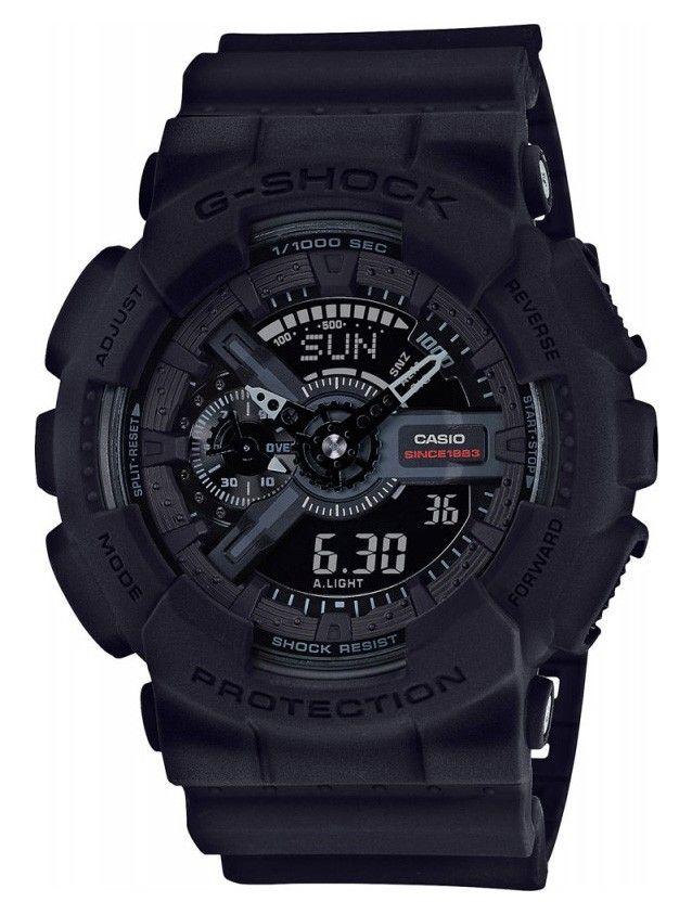 Casio G-Shock 35th Anniversary Limited Edition GA-135A-1AER. Dit horloge is speciaal ontworpen in het kader van het 35 jarig bestaan van de G-Shock. Naast deze uitvoering zijn er voor deze gelegenheid nog diverse andere modellen ontworpen. Dit zijn allemaal Limited Editions. Dus op is op. Dit mooie en stoere horloge heeft de volgende mogelijkheden: Met de Auto-LED Light kan een draai van de pols er voor zorgen dat het display oplicht en het horloge is vanzelfsprekend schok en trilbestendig…