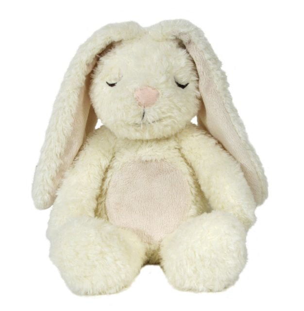 These plush companions combine sight and touch to help deliver the sleepiest slumber.With just a little hug, the touch-activated bear and bushy-tailed bunny give off a soothing glow, as well as the calming rhythm of a heartbeat.Price includes post within New ZealandDelivery time; 5-8 working days