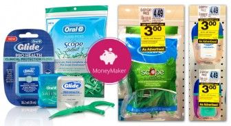 Moneymaker Glide Floss at Rite Aid!