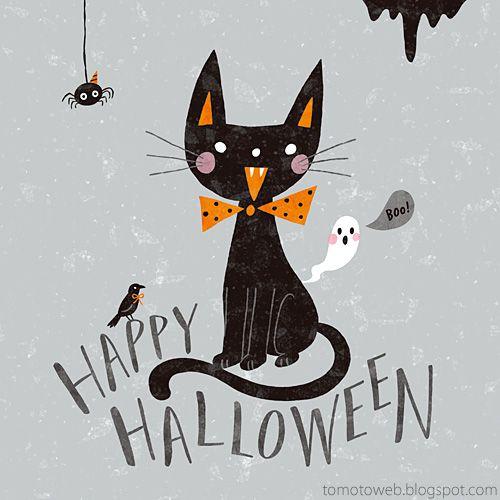 tomoto happy halloween