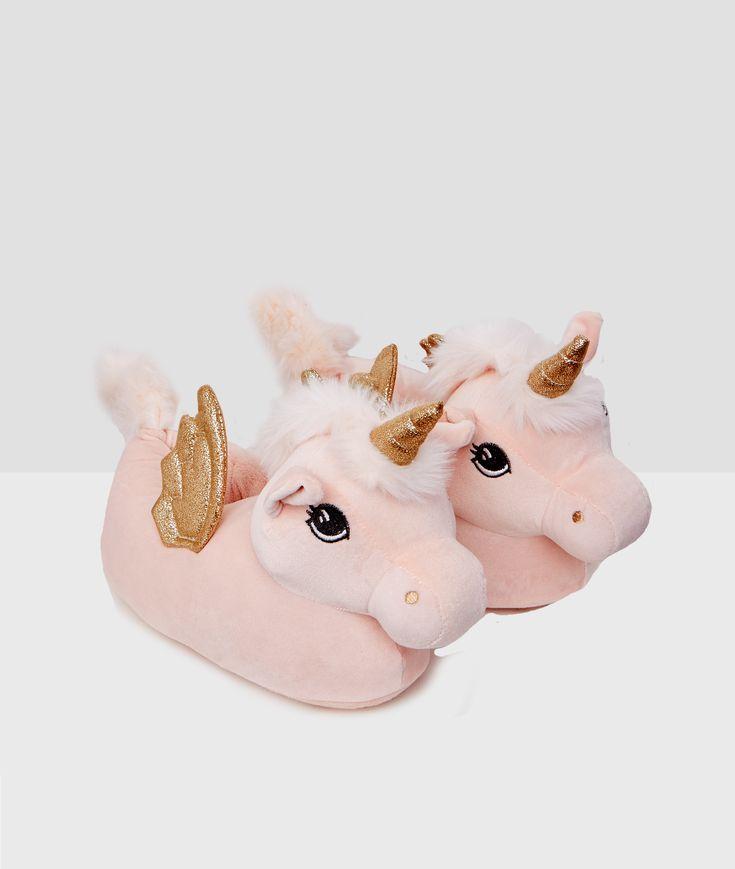 Mules 3D licornes;${refinementColor}