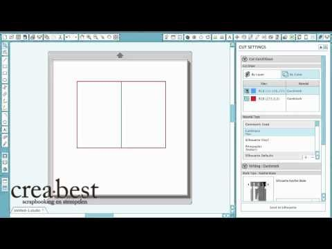 Silhouette Vrijdag: vouwlijnen in Silhouette Studio 3.0 - YouTube