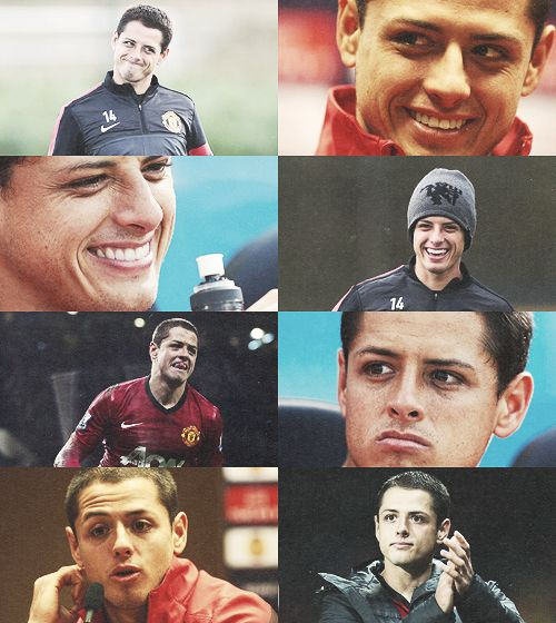 """He's such a good professional and such a fantastic personality."" - Sir Alex Ferguson. Chicharito"