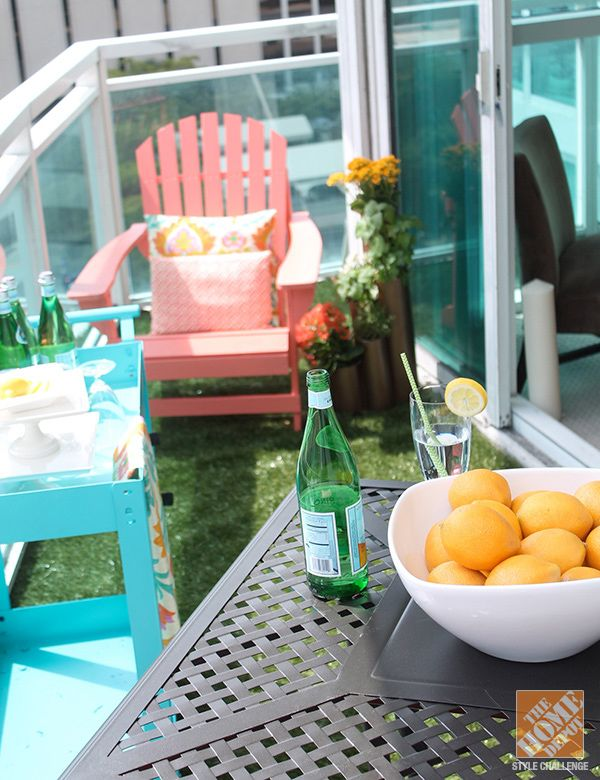 17 best ideas about apartment patio decorating on for Balcony makeover