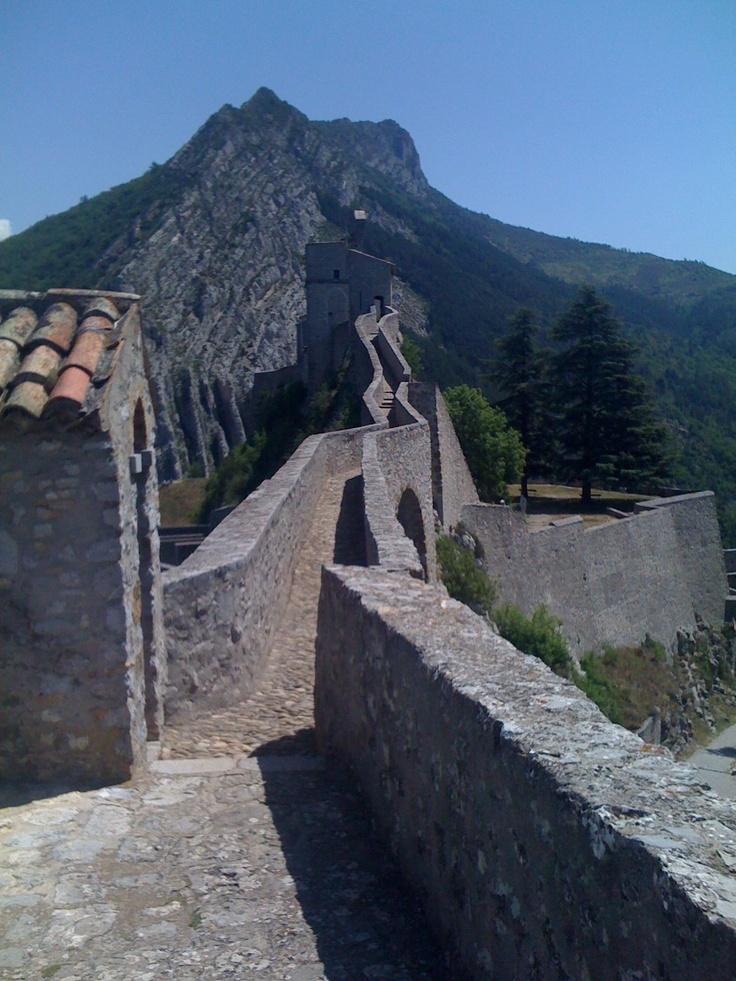 The Citadel at Sisteron