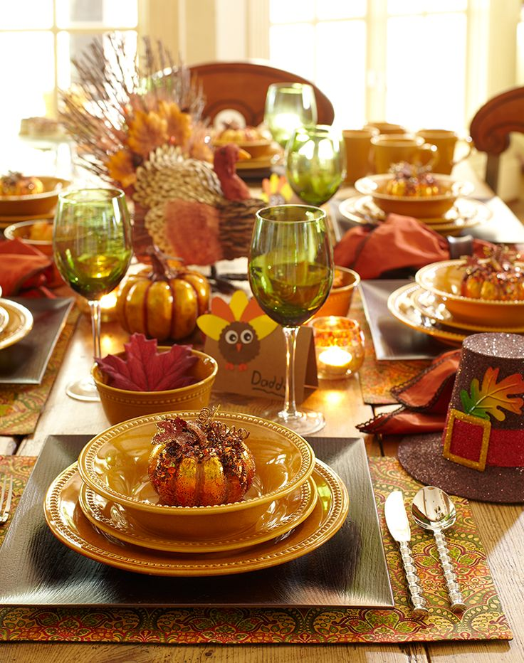 Preppy Empty Nester: Fall Tablescapes Part One. Find this Pin and more on Thanksgiving  Ideas & Decor ...