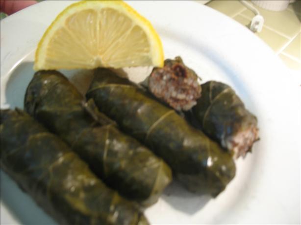 Dolmades - Stuffed Grape Leaves | Recipe