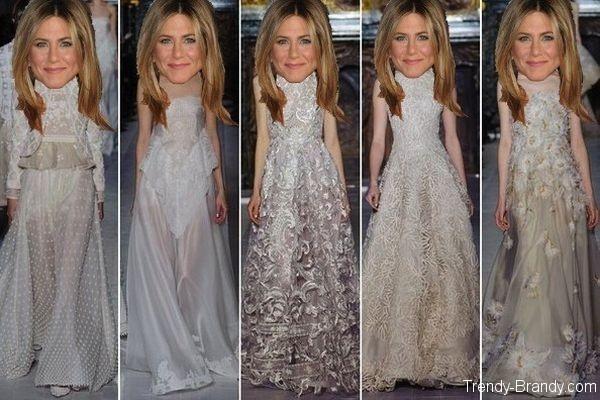 Свадебное платье Дженнифер Энистон: прогнозы | Trendy-Brandy